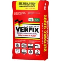 Плиточный клей Verfix Plus / Верфикс Плюс, 25 кг