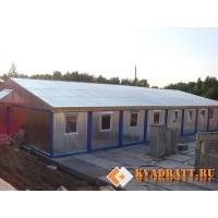 Модульные здания от производителя ООО Квадрат Модульные здания на основе БКМ-101