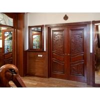 Двери из массива дуба и ясеня, под заказ Комель Резные двери из массива