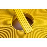 Тактильная лента (29мм/Н-3,2мм), цвет жёлтый (бухта 25м)