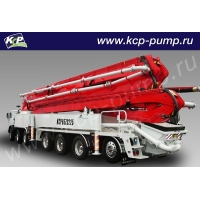 Автобетононасос KCP Heavy Industries CO 65ZS225 на шасси MERCEDES BENZ 4141