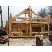 Дома срубы бани из сибирского кедра