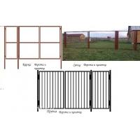 продаем металлические садовые ворота и калитки от производителя