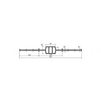 Гидроизоляционная шпонка АКВАСТОП ДВ-320/50 (ПВХ-П)