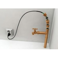 Пищевой греющий кабель в трубу с питьевой водой Lavita HPI 13-2