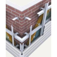 Профиль фасадный. Подсистема вентилируемого фасада