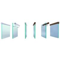 Цельно-стеклянные ограждения  ЦСТ-1