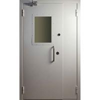 Двери металлические  противопожарные, технические