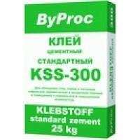 Клей для плитки стандартный базовый ByProc KSS-300
