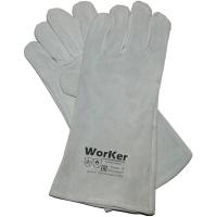 Краги спилковые без подкладки WorKer per4110
