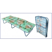 Кровать-тумба раскладная с ватным матрасом Ярославский завод кемпинговой мебели КТР-2М