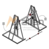 Домкрат кабельный гидравлический разборный ДК-10ГПР, г/п до 1000 Малиен ДК-10ГПР