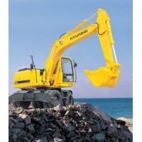 Дорожно-строительная техника HYUNDAI R170W-7