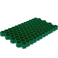 Газонная решетка пластиковая зеленая ГИДРОЛИКА