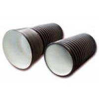 Полиэтиленовые гофрированные трубы с раструбом FD-plast