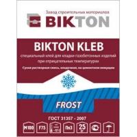 Клей для блоков из газобетона (зимний) БИКТОН