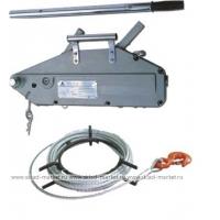 Монтажно-тяговый механизм LEMA Болгария NHSS трос (16мм МТМ) 0,8тн; 1,6тн;  3,2тн/ трос 20 м