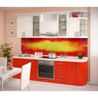 Кухня «Настроение» фасад МДФ пвх глянец Гармония-Мебель цена за п.м.