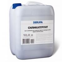 Грунтовка и разбавитель для силикатных красок и штукатурок Derufa Silicat-грунт
