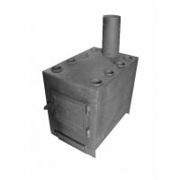 Печь отопительная с конвектором ИП Боровик БР-1