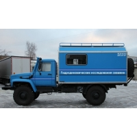 Установка исследования скважин ЛКИ-1 на шасси ГАЗ 33081Садко Е