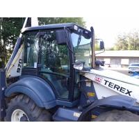 Экскаватор-погрузчик с крабовым ходом. Равновеликие колёса TEREX 970 Elite