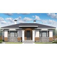 Проект одноэтажного дома для небольшой семьи 322а Альфаплан