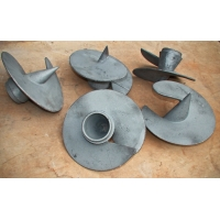 Литые наконечники для винтовых свай диаметр 108 мм.