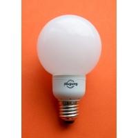 энергосберегающие лампы SunErgy ESL GLm мини-шар, 15W, E-27, 2700-4200K
