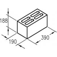 Керамзитобетонный блок Завод БиоСтройТехнологий (КСР-ПР-ПС-39-50-F25-1300)