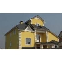 Фасадные материалы: сайдинг, мокрый фасад