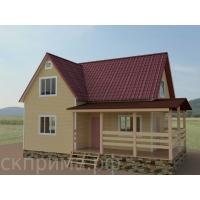 """Каркасный дом """"Викинг"""" с фундаментом"""