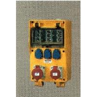 Комплектные устройства в корпусах из твердой резины EverGUM Mennekes габаритный корпус 380х230мм (предохранители)