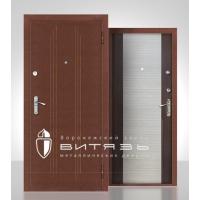 Дверь входная Витязь Златомир селекция 03 медь/венг-дуб-венг