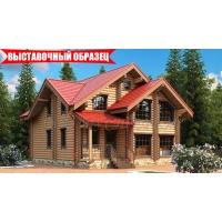 Деревянный дом по проекту Надежда РУСТЕРЕМ