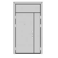 Двери ДН с фрамугой по ГОСТу 24698-81 (без окраски) ООО Красногвардейский лес
