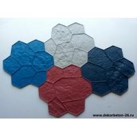 Формы для печатного декоративного бетона
