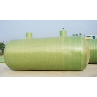 Емкость накопительная  стеклопластиковая 3м3 D-1100мм, H-3350мм