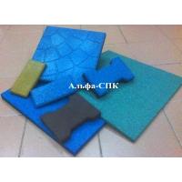 Резиновая плитка, покрытия из резиновой крошки