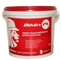 Добавки в бетон BiMix суспензия 5 л, 10 л, 20 л, 30 л