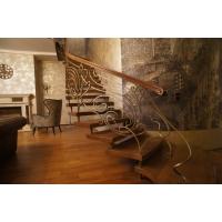 Деревянные лестницы на больцах Алексеевские Лестницы