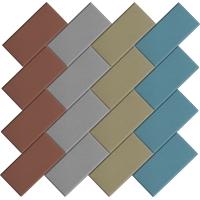 Брусчатка – «Кирпич» 100x200х45