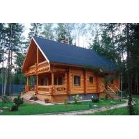 Деревянный дом из Ангарской сосны и лиственницы  № 001