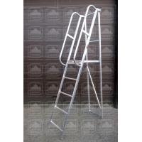 Лестница-платформа алюминиевая складная ЛПФВ
