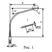 Кронштейн консольный К1К 1-1-108