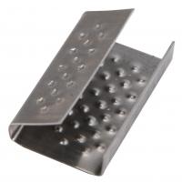 Скоба металлическая для ленты ПП
