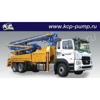 Автобетононасос KCP Heavy Industries CO 32RZ5170 на шасси HYUNDAI