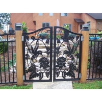 Панели на ворота, двери, калитки