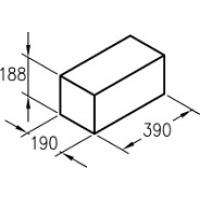 полнотелый керамзитобетонный Завод БиоСтройТехнологий (КСР-ПР-ПС-39-75-F25-1400)