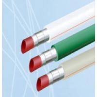 Трубы алюминиево-полимерные ППР/Ал/ППР с внеш. сва (без зачистки Blue Ocean PPR-Al-PPR (X)/20-110